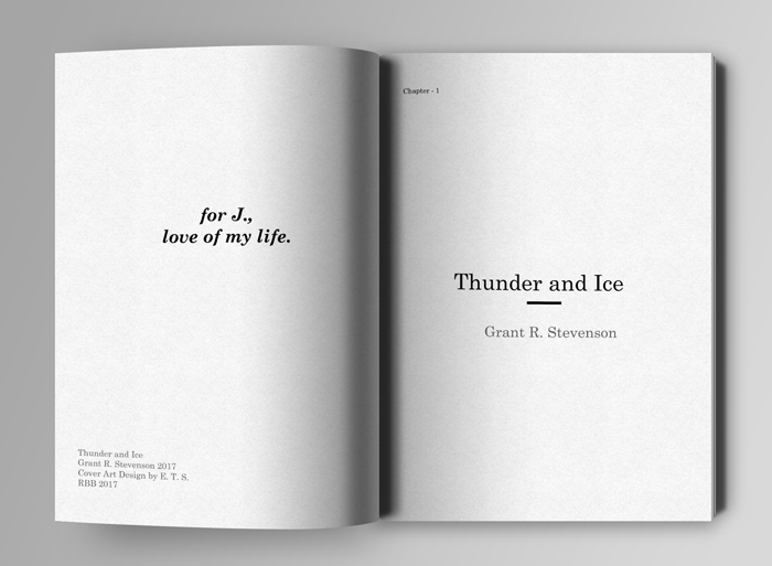 Thunder and Ice Dedication