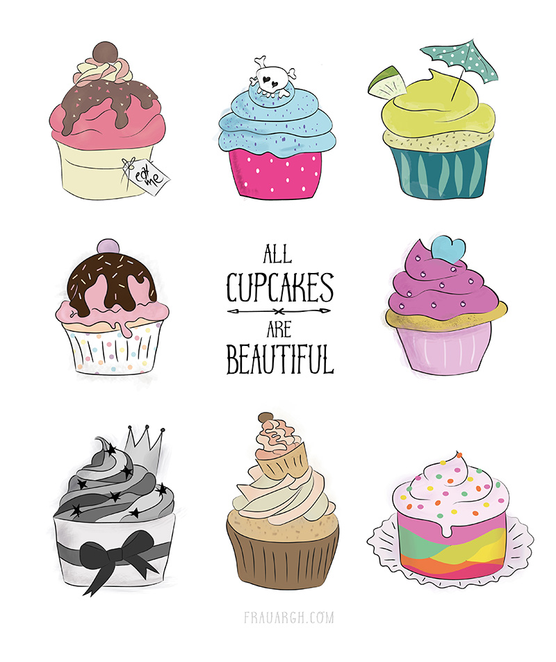 All Cupcakes are Beautiful